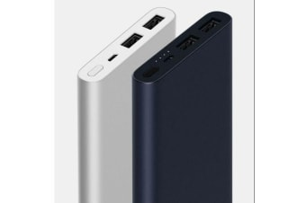 Xiaomi Mi Power Bank 2S 10000mAh Quick External Phone Portable Battery Charger - Black