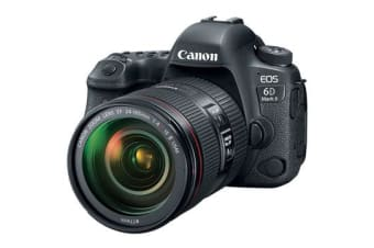 New Canon EOS 6D Mark II with 24-105mm f/4L IS II USM Digital Cameras (FREE DELIVERY + 1 YEAR AU WARRANTY)