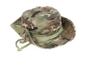 Camouflage Bucket Fishing Hat Fisherman Camo Jungle Bush Hats Boonie