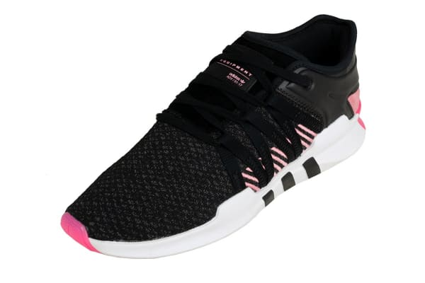 Adidas Women's EQT Racing Adv Shoes (Core Black/Real Pink,Size 8.5)