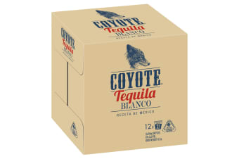 Coyote Tequila Blanco 12 x 700mL