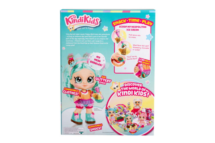 Kindi Kids Snack Time Friends Peppa-Mint Doll