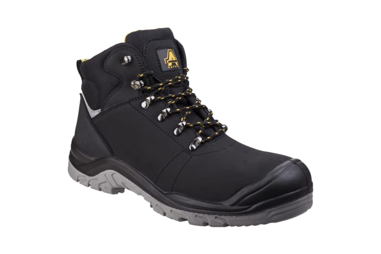 Amblers Safety AS252 Mens Leather Safety Boots (Black) (4 UK)