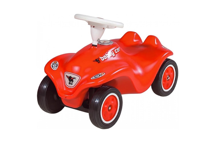 BIG New Bobby Car Ride-On in Red