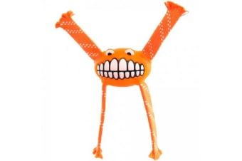 Rogz Flossy Grinz Toy Orange - M
