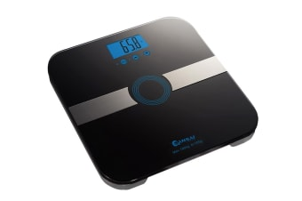 Sansai Body Fat Bathroom Scale - Black (SCA-3341)