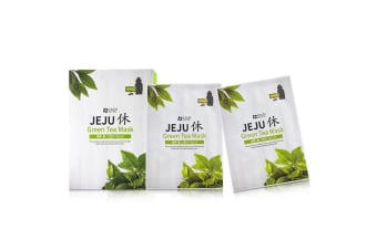 SNP Jeju Green Tea Mask (Soothing) 10x22ml/0.74oz