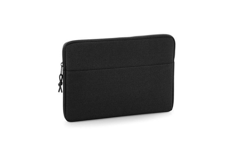 BagBase Essential 13in Laptop Case (Black) (One Size)