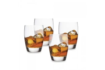 Luigi Bormioli Masterpiece Large DOF Glasses Set of 4