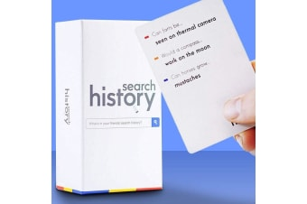 Hilarious Fun Search History Family Party Card Game
