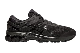 ASICS Men's Gel-Kayano 26 Running Shoe (Black/Black, Size 12 US)