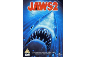 Jaws 2 DVD Region 4