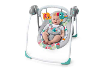 Bright Starts Portable Baby Bouncer/Swing  - Toucan Tango