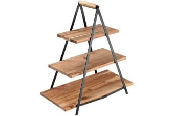 Ladelle Serve & Share Acacia Wood Serving Tower 50x24x54cm
