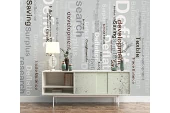 3D English Alphabet 518 Wall Murals Self-adhesive Vinyl, XXXXL 520cm x 290cm (WxH)(205''x114'')