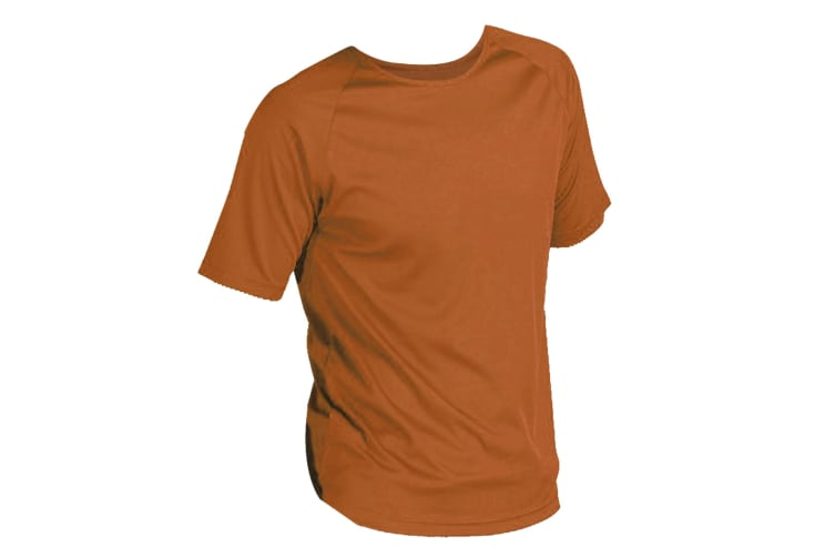 SOLS Mens Sporty Short Sleeve Performance T-Shirt (Orange) (XXL)