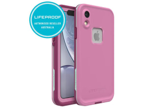 Lifeproof Fre Waterproof Case/Cover Protection for iPhone XR Frost Bite Pink