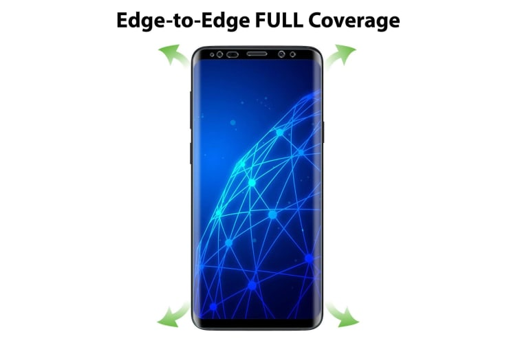 [3 Pack] Samsung Galaxy S9 Ultra Clear Edge-to-Edge Full Coverage Screen Protector Film by MEZON – Case Friendly, Shock Absorption (S9, Clear)