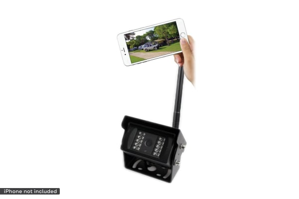 NCE 12 Volt Day/Night Vision WiFi Reverse & Security Camera for Recreational Vehicles (PDREVCAM)