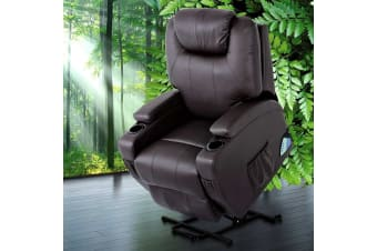 Recliner Chair Electric Lift Massage Chairs Heated Lounge Sofa