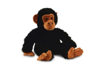 Keel 45cm Kids/Children Large Bahati Chimp Monkey Plush Soft Stuffed Toy Black