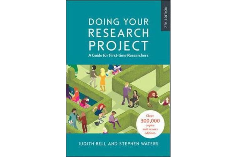 Doing Your Research Project Doing Your Research Project - A Guide for First-time Researchers