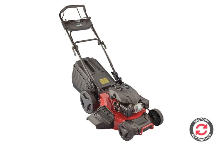 909 196cc Self Propelled 4 Stroke Petrol Refurbished Lawn Mower with Side Discharge & Mulching (56979)