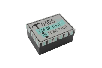 CGB Giftware No1 Dad Tin Of Tools Tin (White) (One Size)