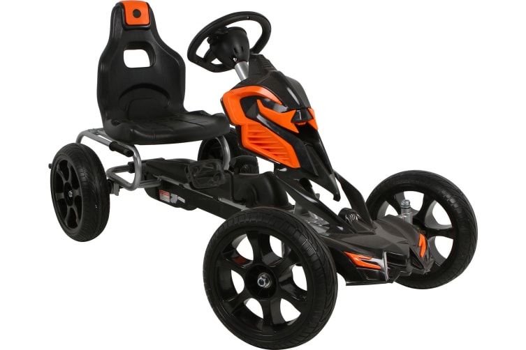 Pedal Powered Go-Kart | Orange