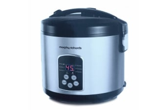 Morphy Richards 10 Cup Electric Rice Cooker w/Non-Stick Pot