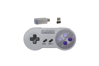 Rechargeable Wireless Controller For Snes/Sfc Classic Edition Two Colour Button