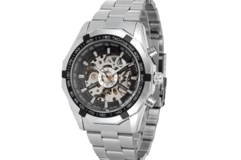 Men full-automatic mechanical skeleton watch Y000027