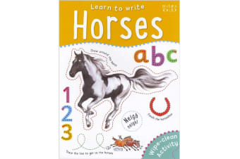 Learn to Write Horses, By Belinda Gallagher