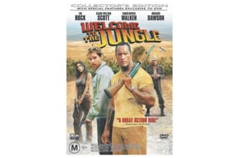 Welcome to the Jungle  - Rare- Aus Stock DVD  PREOWNED: DISC LIKE NEW