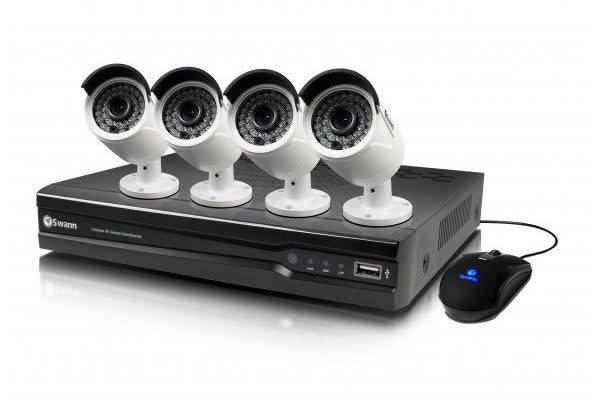 Swann 4 Channel 4MP Network Video Recorder with 4 x NHD-818 4MP Cameras (SWNVK-474004)