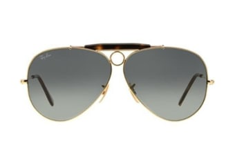 Ray Ban RB3138 18171 62 Gold Mens Womens Sunglasses