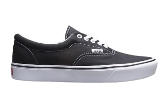 Vans Men's Comfycush Era Classic Shoe (Classic Black/True White, Size 10.5 US)