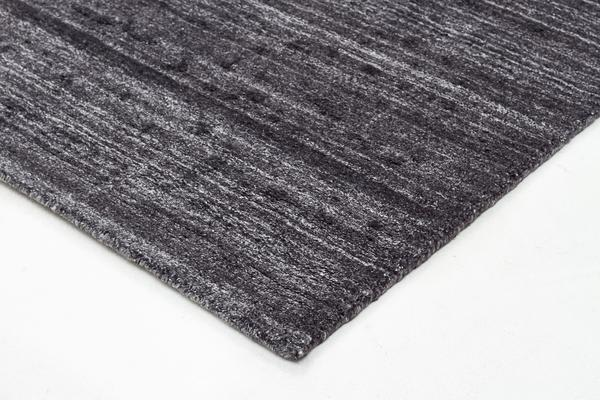 Manhattan Stylish Hand Made Rug Charcoal 225x155cm