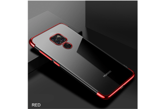 Soft Transparent Tpu Cover Ultra Thin Clear Shell For Huawei Red Huawei Honor8C