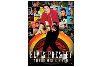Elvis Albums Tin Sign