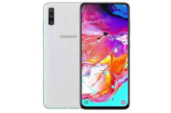 New Samsung Galaxy A70 Dual SIM 128GB 6GB RAM 4G LTE Smartphone White (FREE DELIVERY + 1 YEAR AU WARRANTY)