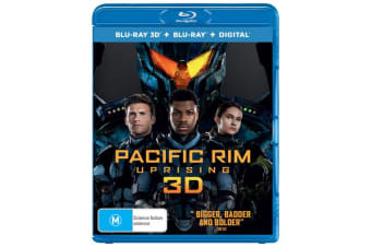 Pacific Rim Uprising 3D Edition with 2D Edition Digital Download Blu-ray