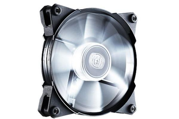Coolermaster Jetflo 120mm 4Pin PWM Case Fan with White LED