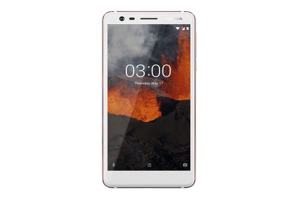 Nokia 3.1 (16GB, White/Iron)
