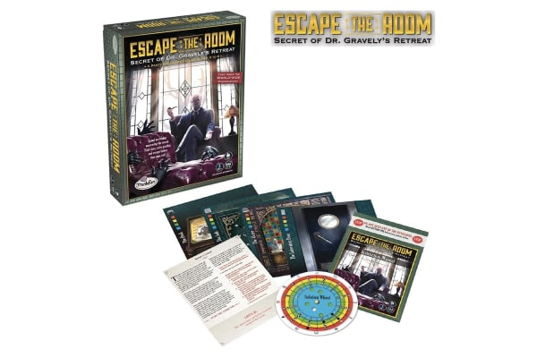 ThinkFun Escape The Room: Secret of Dr Gravely's Retreat