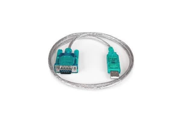 STARTECH 3FT USB TO RS232 DB9 SERIAL ADAPTER CABLE - M/M