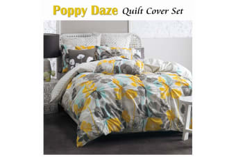 Poppy Daze Quilt Cover Set QUEEN by Deco