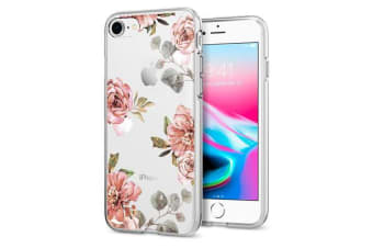 Spigen iPhone 8/ 7 Liquid Crystal Case Aquarelle Rose
