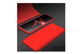 Frosted Shield Matte Plastic Ultra Thin Shockproof Case For Oppo Find X Red R11S