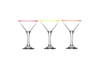 Art Craft Elite Fiesta 250ml Martini Glasses Set 6